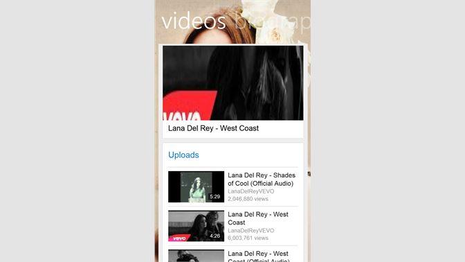 Get Lana Del Rey Music - Microsoft Store