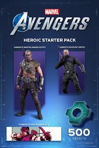 Pack de débutant héroïque Marvel's Avengers