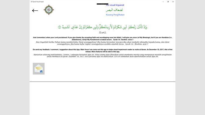 Get Al-Quran Visual Impairment - Microsoft Store en-HK