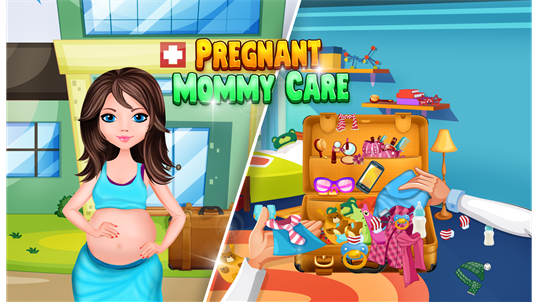 Pregnant Princess Baby Birth - Little Girls Game screenshot 3