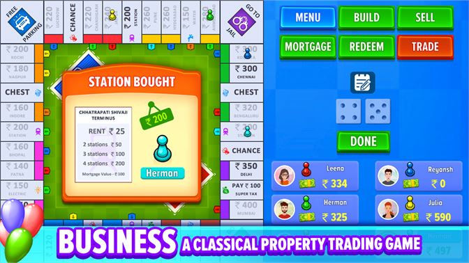 Get Business: Board Game - Microsoft Store