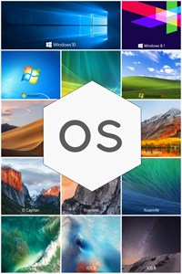 Stock OS Wallpapers