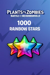 Plants vs. Zombies™: Битва за Нейборвиль — 1 000 радужных звезд