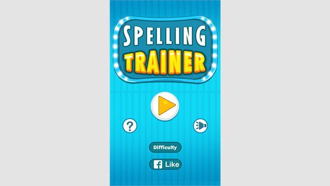 Get Spelling Trainer - Microsoft Store