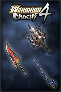 Carátula del juego WARRIORS OROCHI 4: Legendary Weapons Samurai Warriors Pack 2