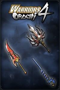 Carátula del juego WARRIORS OROCHI 4: Legendary Weapons Samurai Warriors Pack 2