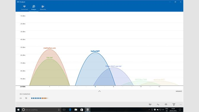 Get WiFi Analyzer - Microsoft Store