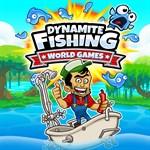 Dynamite Fishing - World Games Logo