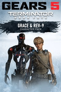 Carátula del juego Terminator Dark Fate Pack – Grace and Rev-9
