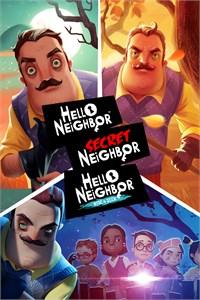 Carátula para el juego Hello Neighbor: Home Invader Bundle de Xbox 360