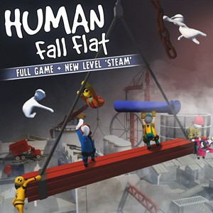 Human: Fall Flat + Steam Level Xbox One