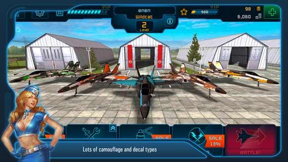 Battle of Warplanes now in the Windows Store 4