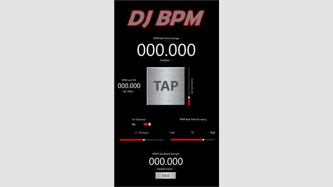 Get DJ BPM - Microsoft Store