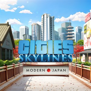Cities: Skylines - Content Creator Pack: Modern Japan Xbox One
