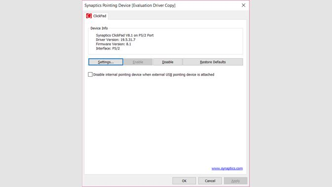 Get SynTouchpadApp - Microsoft Store
