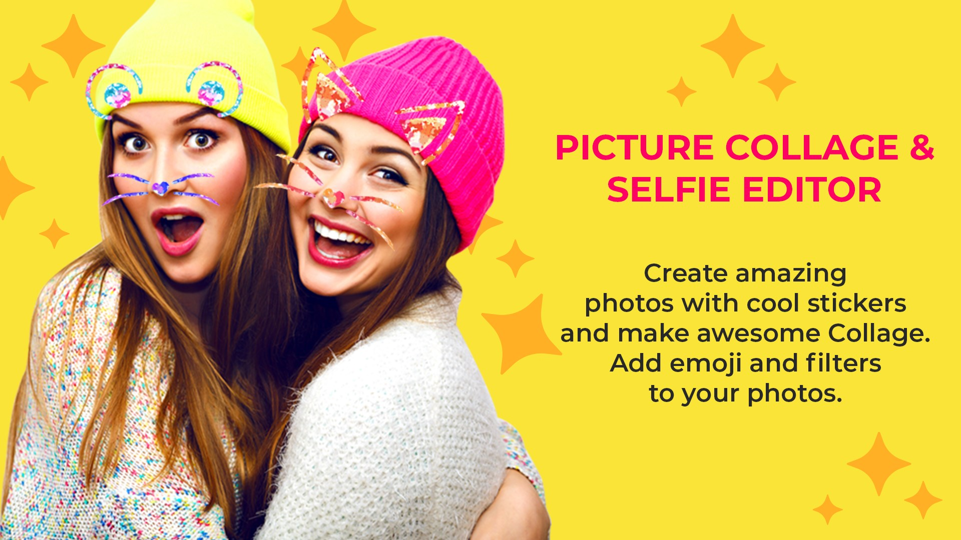 Get Collage Maker Pic Grid & Beauty Selfie Camera