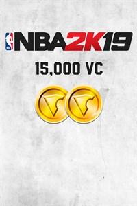 Carátula para el juego NBA 2K19 15,000 VC de Xbox 360