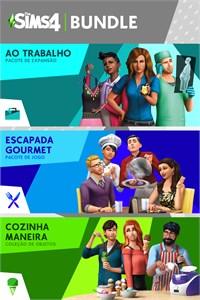 The Sims 4 Bundle - Ao Trabalho, Escapada Gourmet, Cozinha Maneira Coleção de Objetos
