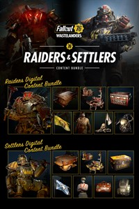 Carátula del juego Fallout 76: Raiders & Settlers Content Bundle