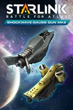 Buy Starlink: Battle for Atlas™ - Shockwave & Gauss Gun Mk 2 Weapon Pack -  Microsoft Store en-IN