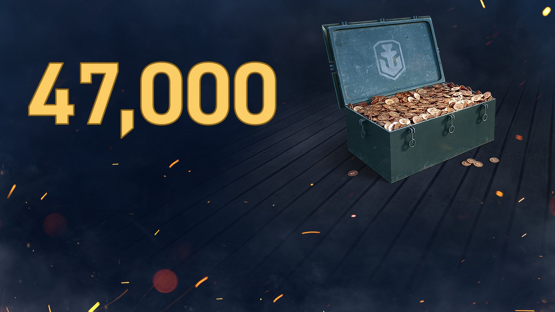 World of Warships: Legends - 47,000 Doubloons