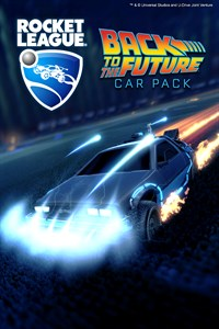 Carátula del juego Rocket League - Back to the Future Car Pack