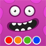 Coloring Book - Monsters - funny painting book for boys and girls, adults and kids