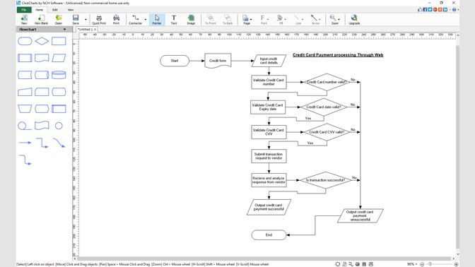Get ClickCharts Diagram And Flowchart Software Free