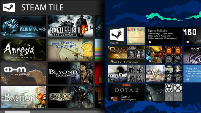 Get Steam Tile - Microsoft Store