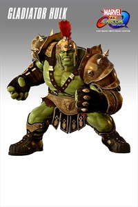 Carátula del juego Marvel vs. Capcom: Infinite - Gladiator Hulk Costume