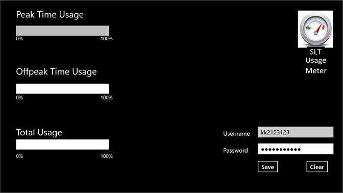 Get SLT Usage Meter - Microsoft Store