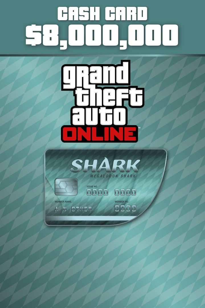 Buy Megalodon Shark Cash Card - Microsoft Store