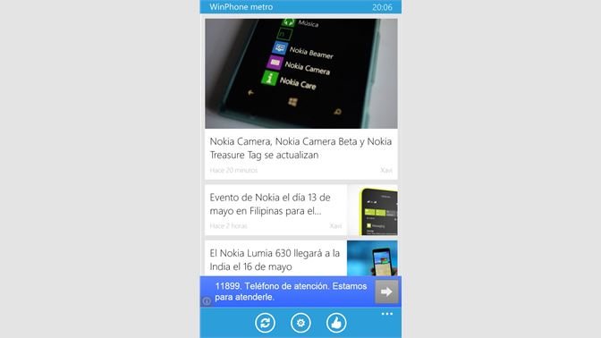 Get WinPhone metro oficial - Microsoft Store