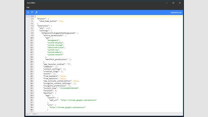 Get JsonEditor - Microsoft Store