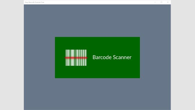 Get Easy Barcode Scanner Free - Microsoft Store