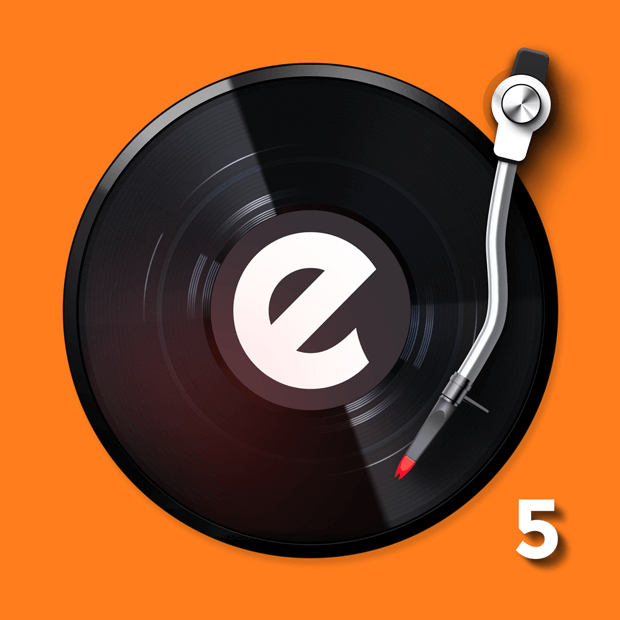 Get edjing 5: DJ turntable to mix and record music