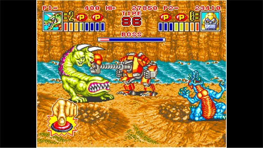 ACA NEOGEO KING OF THE MONSTERS 2 screenshot 2