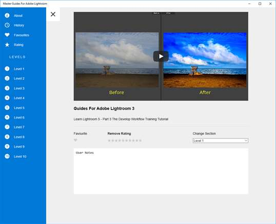 Master Guides For Adobe Lightroom screenshot 3