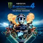 Monster Energy Supercross - The Official Videogame 4 Logo