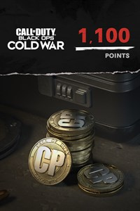 1,100 Call of Duty®: Black Ops Cold War Points