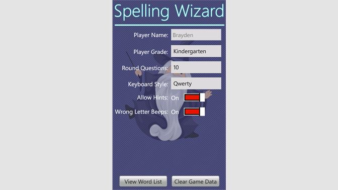 Get Spelling Wizard - Microsoft Store