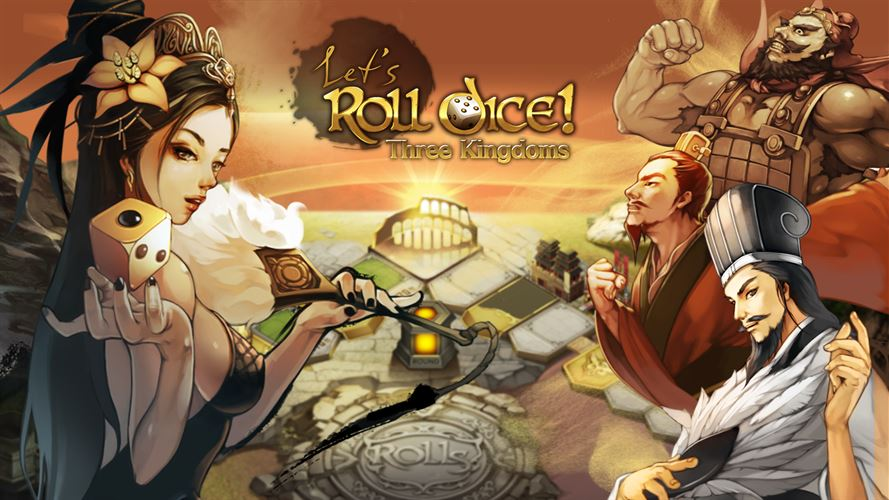 Let's Roll Dice!: Three Kingdoms Screenshot