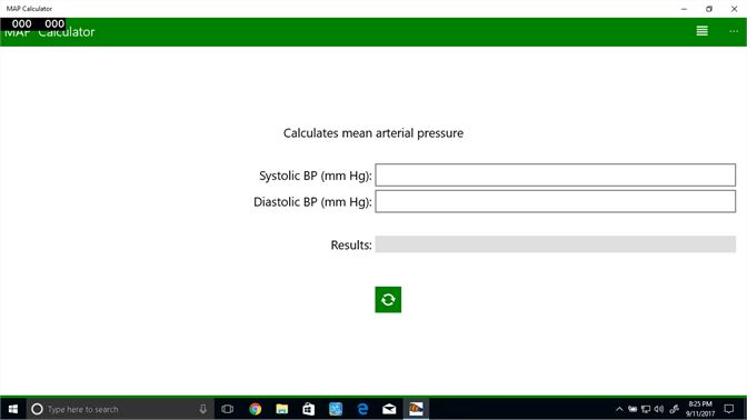 Get Mean Arterial Pressure Calculator Microsoft Store