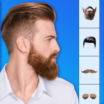 Man Photo Editor- Hair Style & Background Changer
