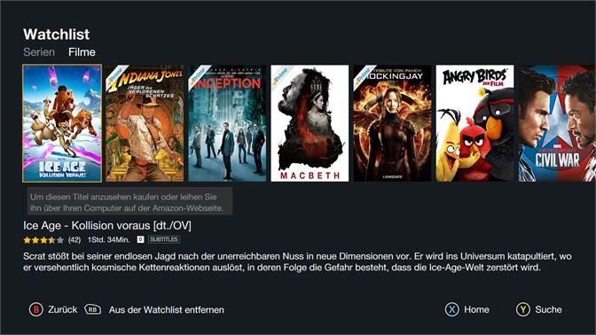 Amazon Video Deutschland Beziehen Microsoft Store De De