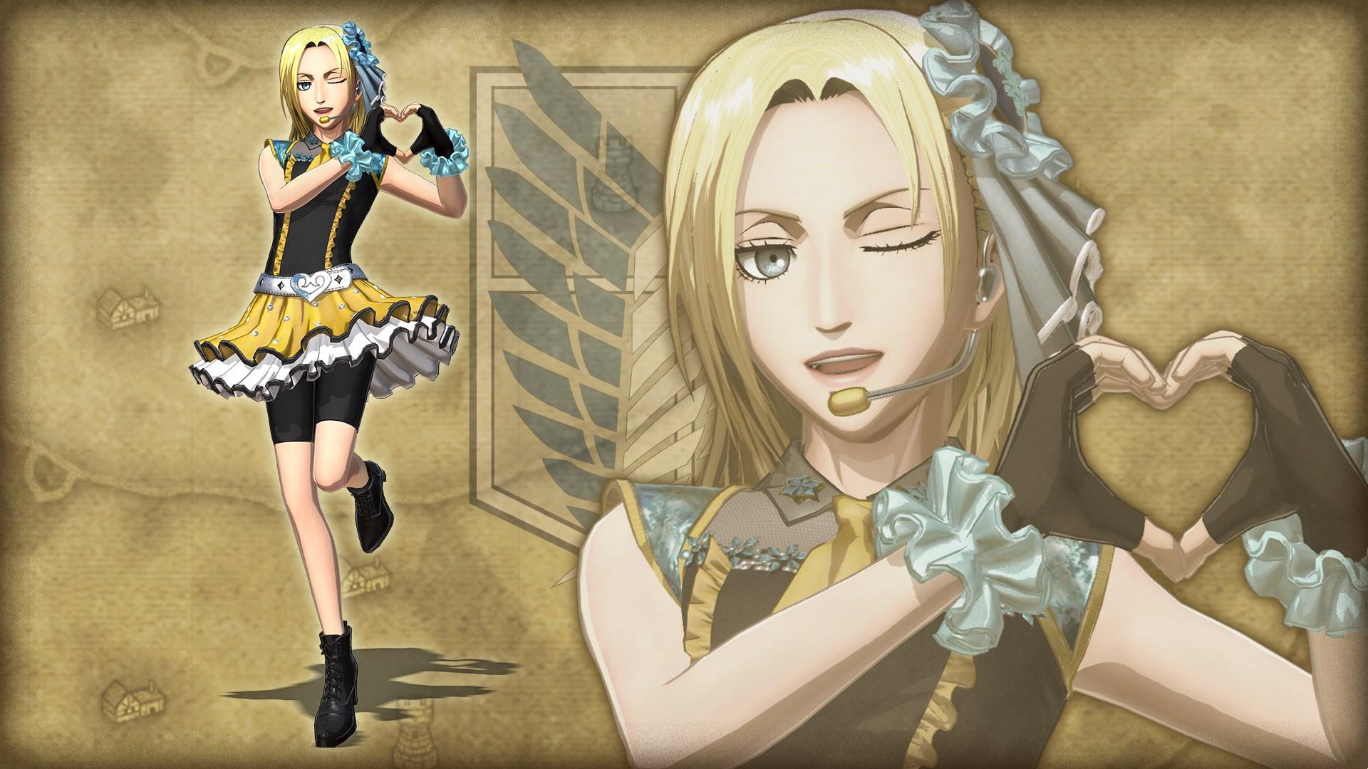 Дополнительный костюм для персонажа Annie: поп-звезда