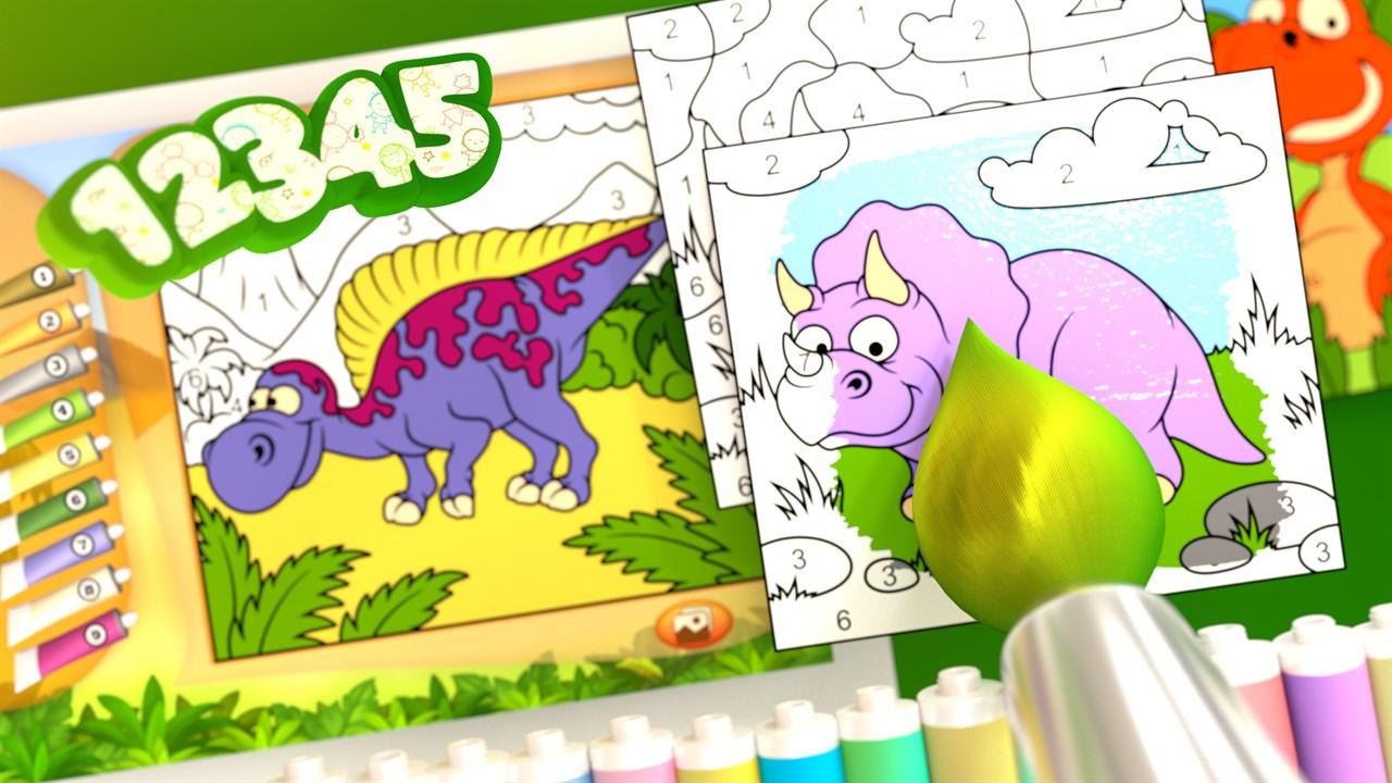 Acheter Coloriage Magique Dinosaure Microsoft Store Fr Fr