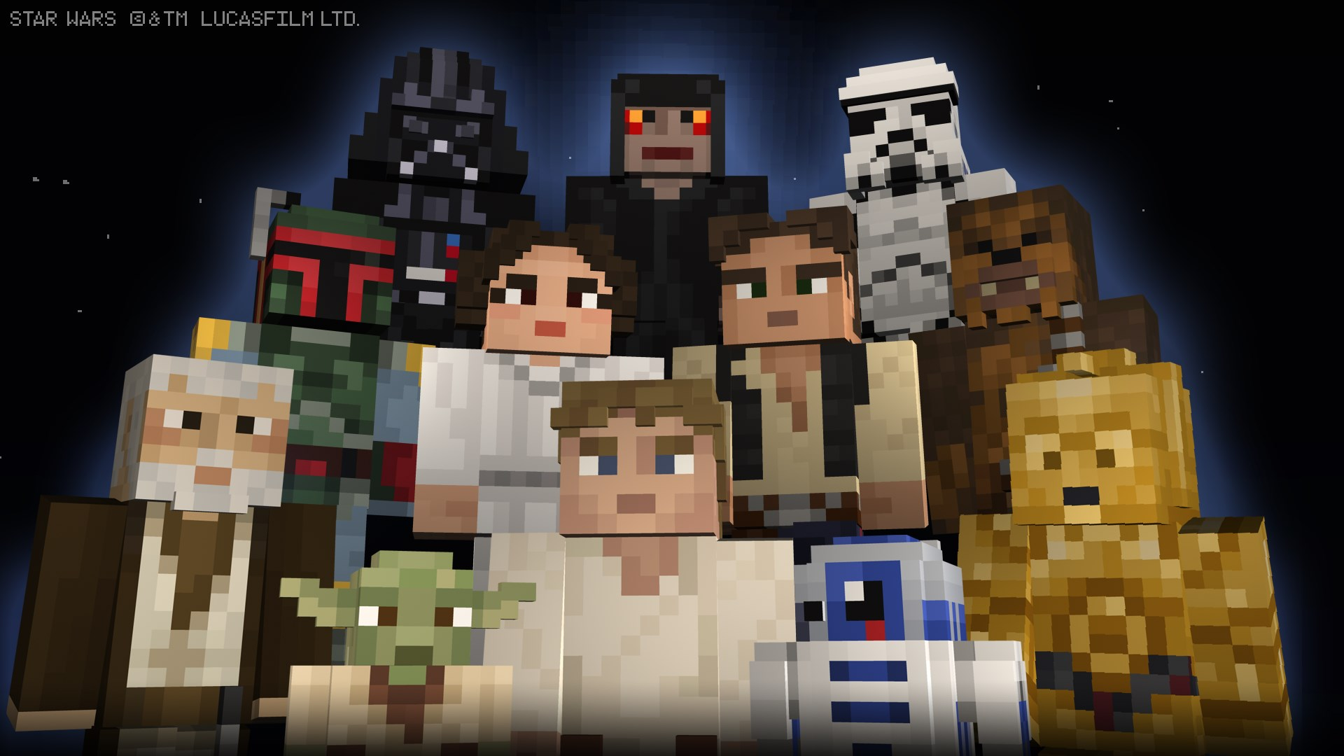 Star Wars Classic Skin Pack