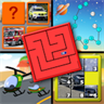 Kids Cars and Trucks Logic and Memory Puzzles - teaches children the letters of the alphabet and counting