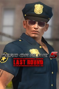 Carátula del juego DEAD OR ALIVE 5 Last Round Rig Police Uniform
